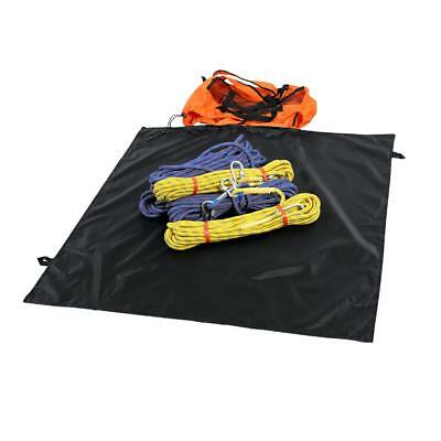 Folding Rock Climbing Tree Surgeon Rope Deploy Bag Backpack & Ground Sheet
