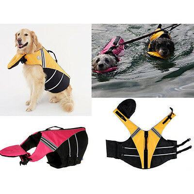 Unisex DOG DELUXE PILLOW PET PRESERVER LIFE JACKET SAFETY VEST Guardian Gear