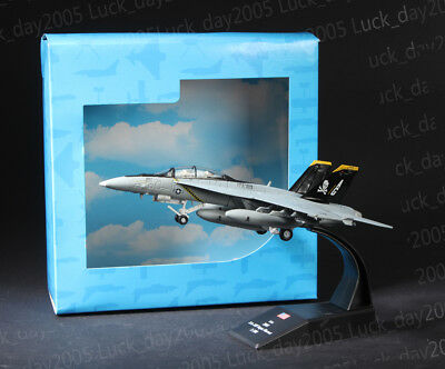 Amer Com US Navy F/A-18F Super Hornet Strike Fighter 1/100 Diecast Model