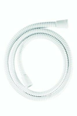 Croydex Essentials Reinforced PVC Shower Hose, 1.5 m, White