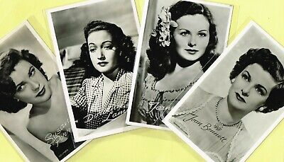 TAKKEN - 1950s Film Star Postcards issued in Holland #3289 to #3416 [Hollywood]