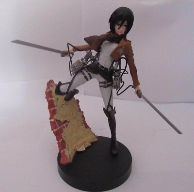 Attack On Titan - SNK - Mikasa Statue - Authentic from Japan - Attachable