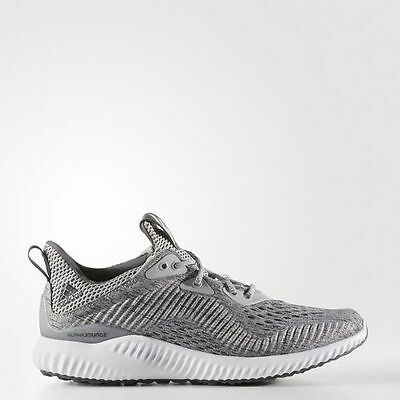 aba3e9b1f51d7 WOMENS ADIDAS ALPHA Bounce EM Grey White Size 9.5 US BW1194 -  44.98 ...