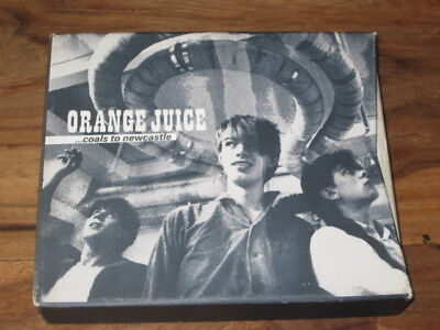 Orange Juice - Coals to Newcastle CD+DVD box set (2010)