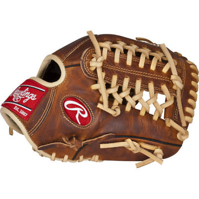 "Rawlings Heritage Pro 11.75"" baseball infield glove RHT HP205-4CA leather adult"