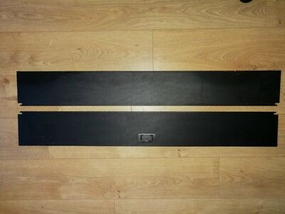 Juwel Aquarium Rio 240 2 Piece Fish Tank Hood Flaps Set (Not Light Unit) (Used)