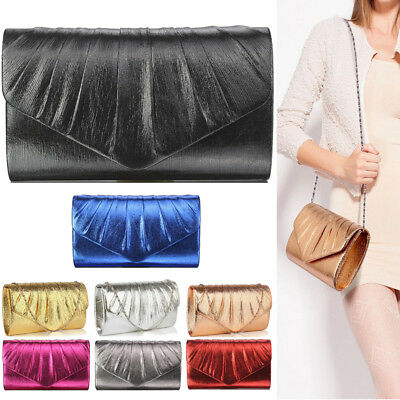 Womens Handbags Clutch Bags Ladies Evening Prom Party Wedding Evening Bridal New