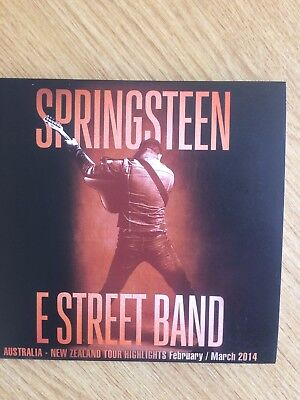 Bruce Springsteen & The E-Street Band ‎– Australia - New Zealand Tour double cd.