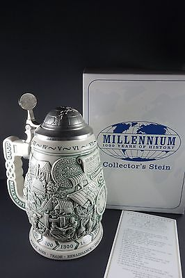 Avon Stein Millennium 1000 Years of History MINT Limited Edition Certificate Box