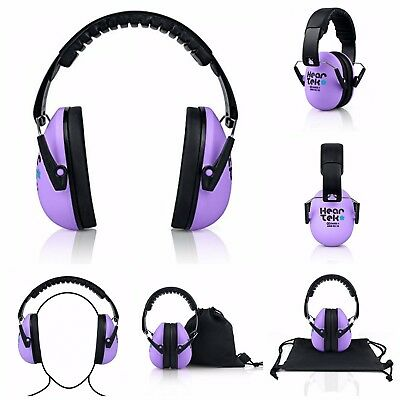 Kids Hearing Protection Ear Muffs For Baby Ear Protection Noise Reduction NEW