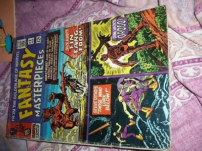 Fantasy Masterpieces Vol 1 #2 - Marvel Comic - April 1966