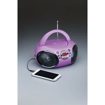CD Boombox AM/FM stereo Compatible with Smartphone LED dspaly Picnic Christmas