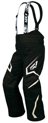 FXR Helix Child Snowmobile Pants Black/White