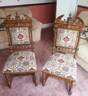 antique throne style chairs