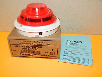 New Siemens Hfp-11 Fire Alarm Smoke Detector (Qty Avail) Ship Same Next Day