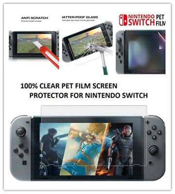 Hot for Nintendo Tempered Glass Screen ANTI Bubbles for Nintendo Switch