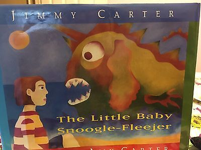 The Little Baby Snoogle-Fleejer signed book by Jimmy Carter,illus by Amy Carter