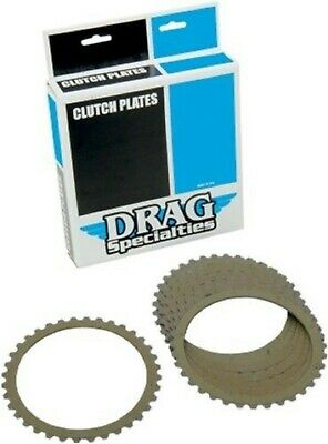 Drag Specialties Clutch Plates Kit Made with Kevlar Harley Sportster Iron 91-17