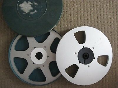 Super 8mm Film Spools, 2 x 800ft in one Tuscan Case