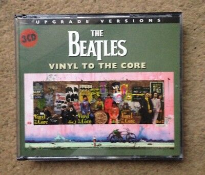 Beatles 'Vinyl To The Core - Upgrade Versions' 3CD set Palm Drive PDCD