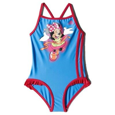 adidas Disney Minnie Mouse Girls Swimming Costume Age 18-24 Months NEW