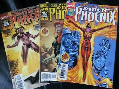 x-men : phoenix - from the books of the askani 1 - 3