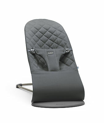 NEW BabyBjorn Bouncer Bliss - Cotton - Anthracite