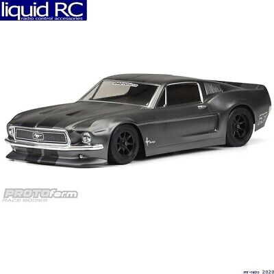 Pro-Line PRM1558-40 1968 Ford Mustang Clear Body VTA Class