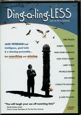 Ding-a-ling-Less Join us for a cocktale  RARE OOP ORIG 2004 DVD (Brand New!)