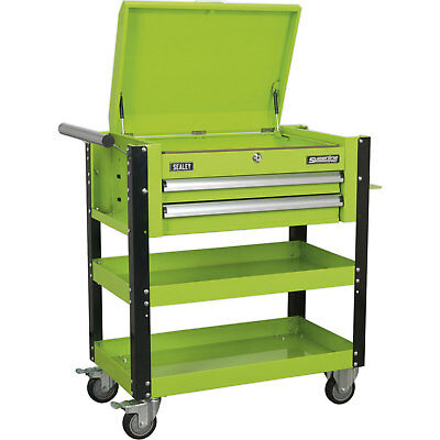 Sealey Heavy-Duty Mobile Tool & Parts Trolley