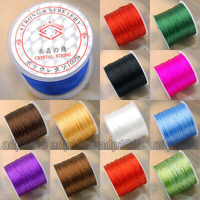 65 Yard Strong Stretchy Elastic String Thread For Diy Bracelet OR Necklace