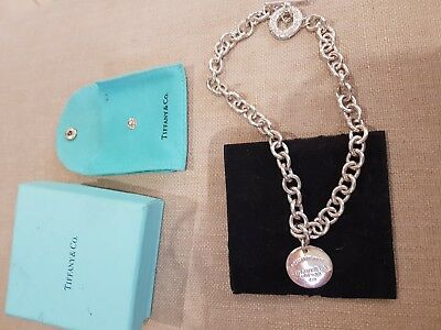 tiffany and co necklace with box 925 stamped