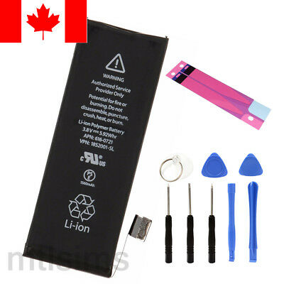 NEW Original OEM Replacement Battery iPhone 5s 5c 1560 mAh 616-0718 with Tools