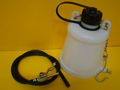Motorcycle Plastic Auxilary Fuel Tank Workshop Petrol Tank Remote Tank