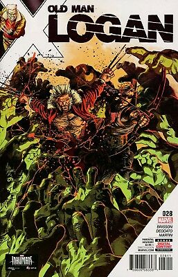 Old Man Logan #28 Wolverine Marvel Comics Near Mint 9/13/14