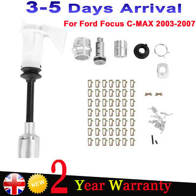 Bonnet Release Lock & Latch Repair Kit Set 4556337 For FORD FOCUS MK2 2003-2007