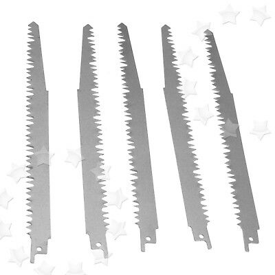 5Pcs Carbon Steel Reciprocating Wood Saw Blades 240mm Sabre For Bosch