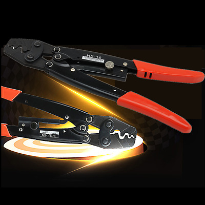 Professional Wire Crimper Pliers Ratcheting Terminal Crimping Tool ANDERSON PLUG