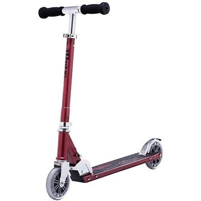 JD Bug Scooter. JD Bug Classic Street Scooter MS120 - Red Glow