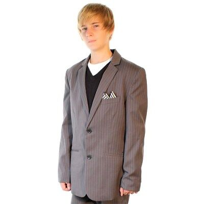 Volcom Men's Daper Dark Grey Stone Suit Jacket