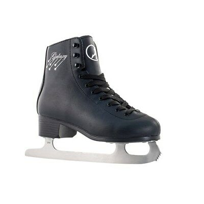 Ice Skates. Mens Ice Skates. Womens Ice Skates. SFR Galaxy Black Ice Skates
