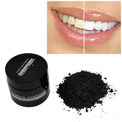 Natural Bamboo Charcoal Mint Teeth Whitening Powder Power Oral Tooth Paste Clay