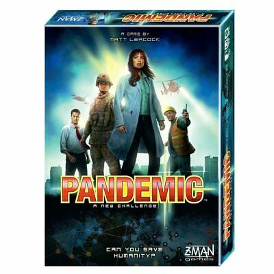 PANDEMIC Board Game Updated Version 2013 Revised Edition *NEW*