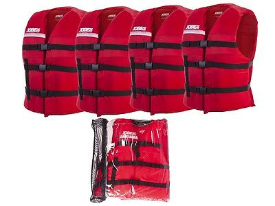 Jobe Universal Promo Package Lifejacket Life Jacket Red