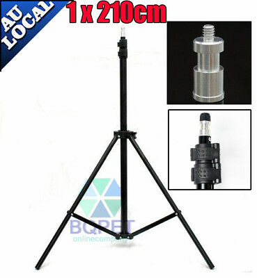 Photo Studio 1x210cm Tall Light Stand Tripod for Video Lighting Flash Umb Stand