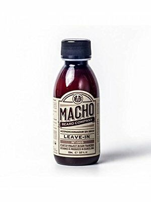 Macho Leave In Beard Conditioner, 150 ml