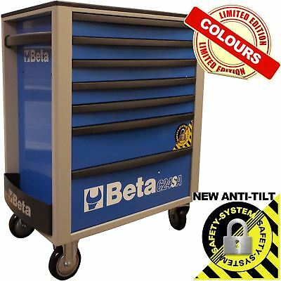 Beta Tools 7 Drawer Limited Edition Mechanics Mobile Roller Cab Tool Box Cabinet