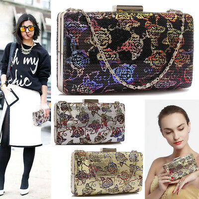 Womens Style Bags Ladies Designer Evening Prom Party Satin Clutch Wedding Purse
