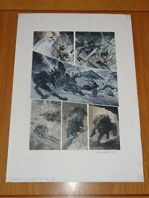 2000Ad Prog 1198 Tales Of The Telgouth Carl Crithclow Original Comic Art