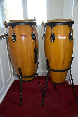 Conga Drums with stands